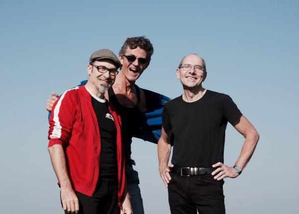 Wolkenpark+ Kriz Flew, Andy Brugger, Jean-Pierre Schaller (f.l.t.r)